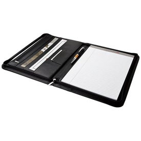 Zippered Letter Sized Folio Giveaways
