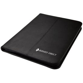 Imprinted Zippered Letter Sized Folio