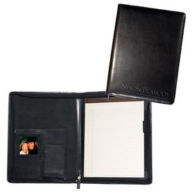 Branded Zippered Magnetic Photo Portfolio