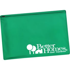 Zippered Portfolio Branded with Your Logo