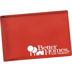 Zippered Portfolio (Translucent)