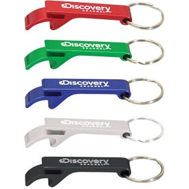 Anodized Aluminum Bottle Opener Keyrings