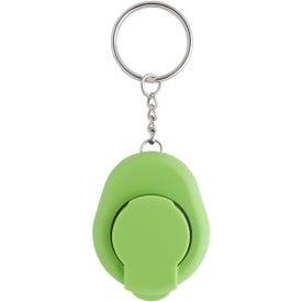Clip-On Bottle Opener Key Chain