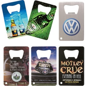 "Credit Card Bottle Opener (3.375"" x 2.125"")"