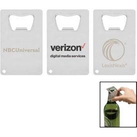 Credit Card Polished Bottle Opener