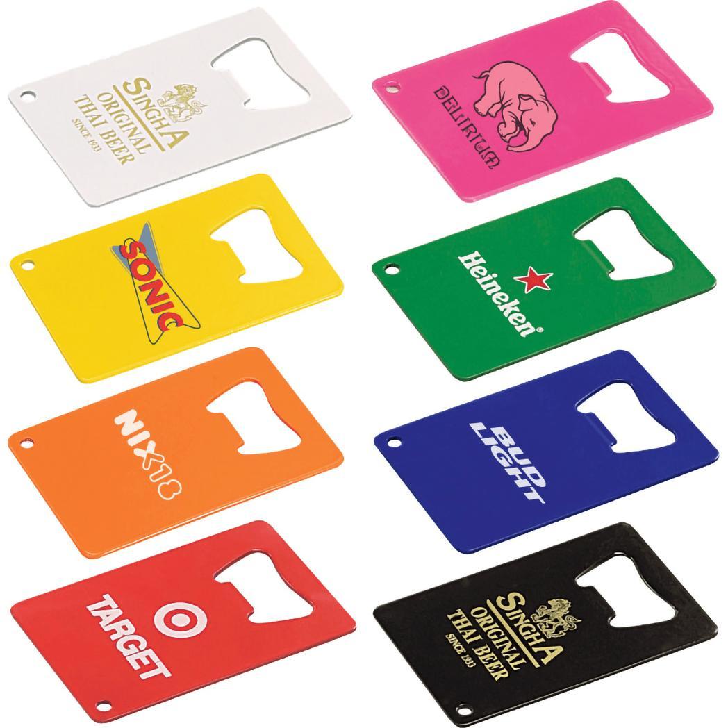 Credit Card Powder Coated Bottle Opener