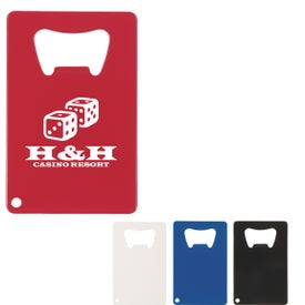 Credit Card Shaped Bottle Openers