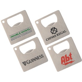 Crescent Mini Square Bottle Opener