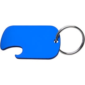 Dog Tag Bottle Opener Key Rings