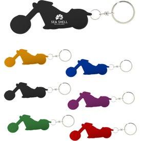 Motorcycle Bottle Opener Keychain