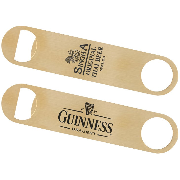 Gold Bottle Opener with FREE Engraving by MYLEE London