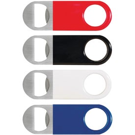 Short Paddle Vinyl Wrapped Bottle Openers