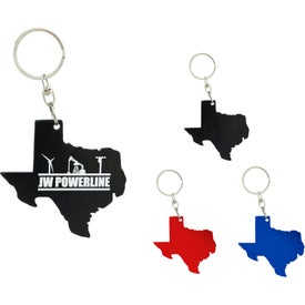 Texas Bottle Opener Keychain