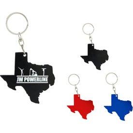 Texas Bottle Opener Keychain