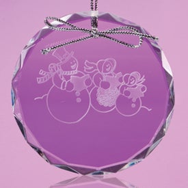 Lancaster Circle Shaped Ornament