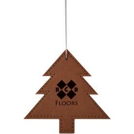 Tree Leatherette Ornament