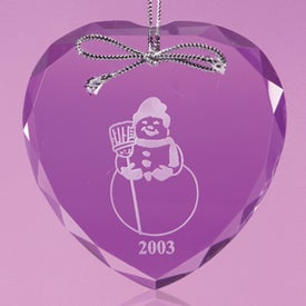Lebanon Heart Shaped Ornament