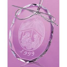 Logan Oval Shaped Ornament
