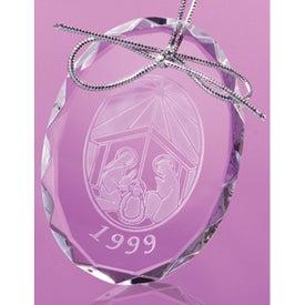 Logan Oval Shaped Ornament