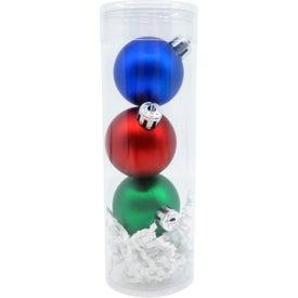 Shatterproof Christmas Ornament Set