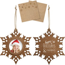Wood Photo Ornaments