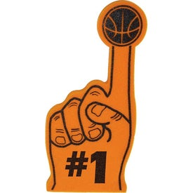 #1 Foam Hands with Basketball