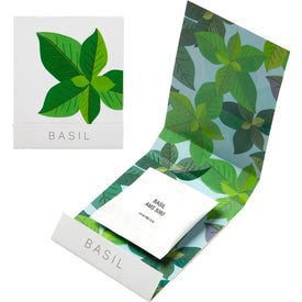 Basil Seed Matchbooks