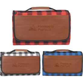 Field and Co. Buffalo Plaid Picnic Blankets