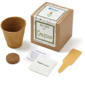 Oregano Planter in Kraft Gift Box