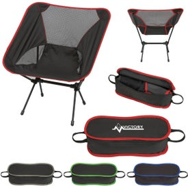 Promotional Folding Chair With Carrying Bags With Custom