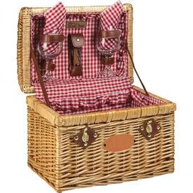 Picnic Time Chardonnay Wine Basket
