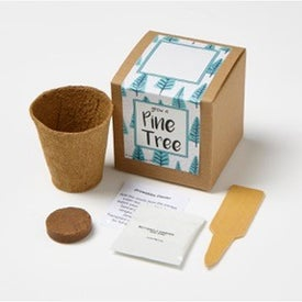 Pine Tree Growables Planter in Kraft Gift Box