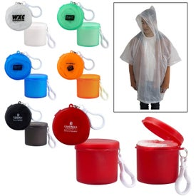 Travel Rain Poncho (Unisex)