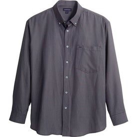 Brewar Long Sleeve Shirt by TRIMARK Imprinted with Your Logo