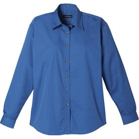 Capulin Long Sleeve Shirt by TRIMARK Branded with Your Logo