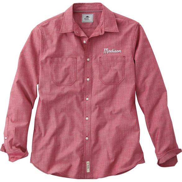 Cranberry Clearwater Roots73 Long Sleeve Shirt by TRIMARK