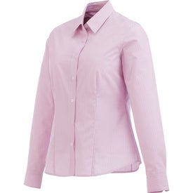 Garnet Long Sleeve Shirt by TRIMARK Branded with Your Logo