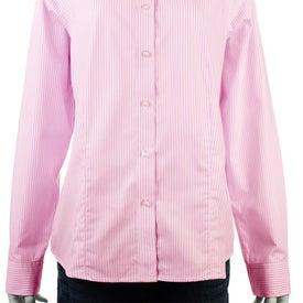 Monogrammed Garnet Long Sleeve Shirt by TRIMARK
