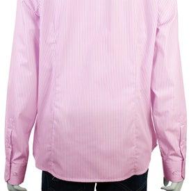 Imprinted Garnet Long Sleeve Shirt by TRIMARK