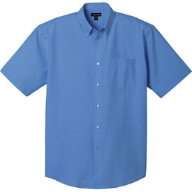 Lambert Oxford Short Sleeve Shirt by TRIMARK Giveaways