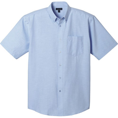 Promotional men 39 s lambert oxford short sleeve shirt by for Mens short sleeve oxford shirt