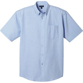 Lambert Oxford Short Sleeve Shirt by TRIMARK for Promotion