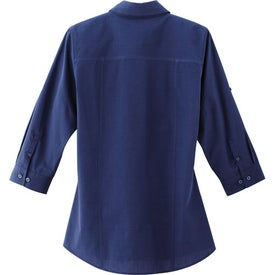 Logo Ralston 3/4 Sleeve Shirt by TRIMARK