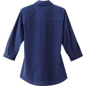 Logo Ralston 3/4 Sleeve Shirt by TRIMARK