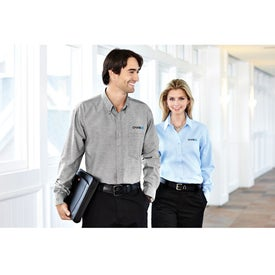 Tulare Oxford Long Sleeve Shirt by TRIMARK Giveaways