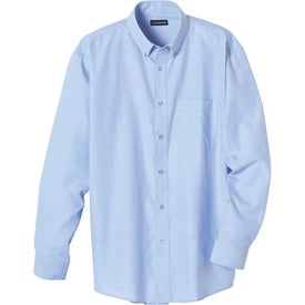 Branded Tulare Oxford Long Sleeve Shirt by TRIMARK
