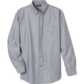 Tulare Oxford Long Sleeve Shirt by TRIMARK for Advertising