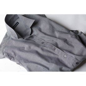 Tulare Oxford Long Sleeve Shirt by TRIMARK Branded with Your Logo