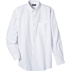 Logo Tulare Oxford Long Sleeve Shirt by TRIMARK