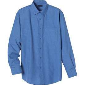 Custom Tulare Oxford Long Sleeve Shirt by TRIMARK